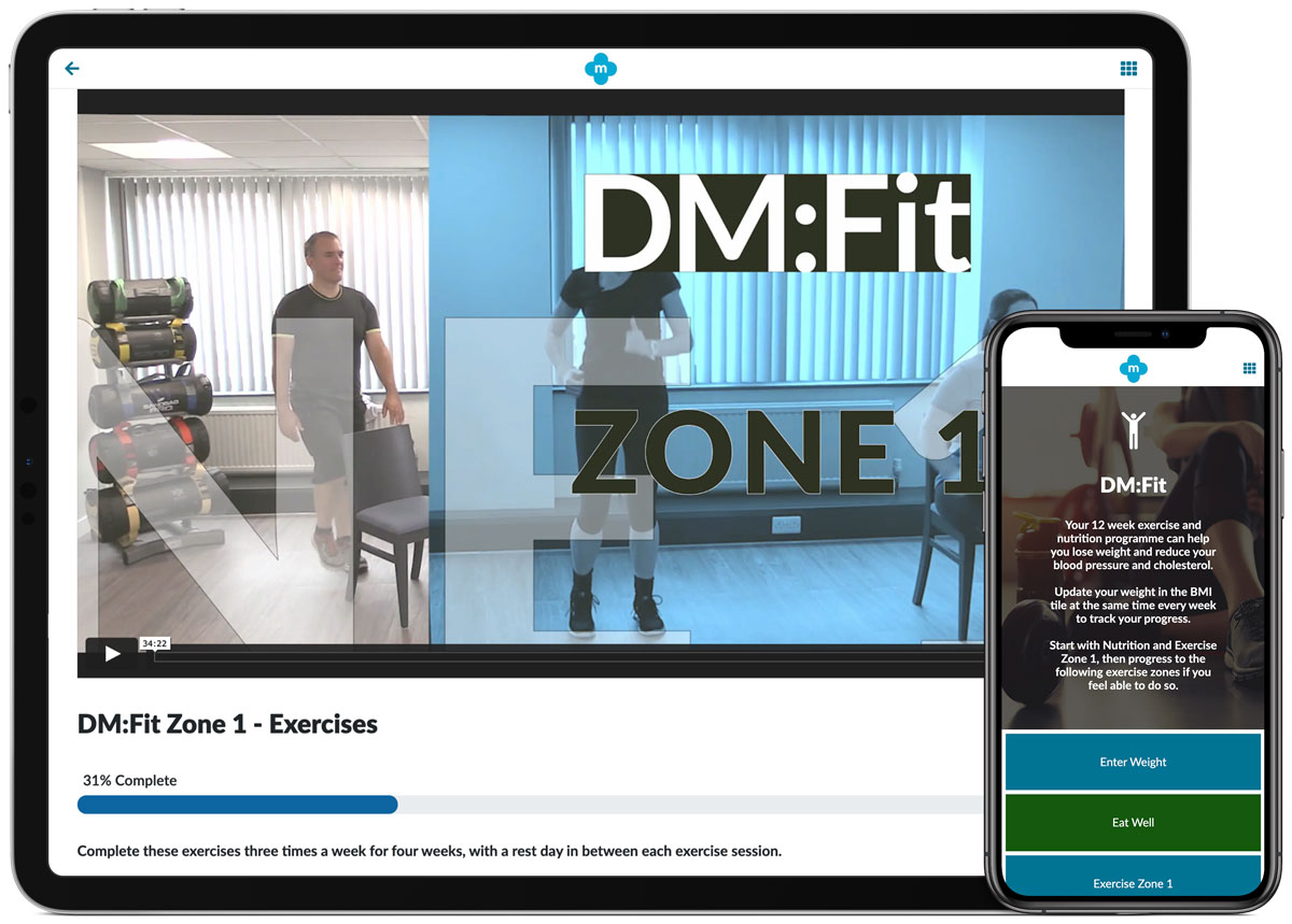 DM:Fit Fitness and Nutrition Program for type 2 diabetics