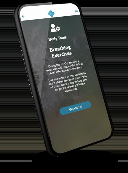 myOp iphone app