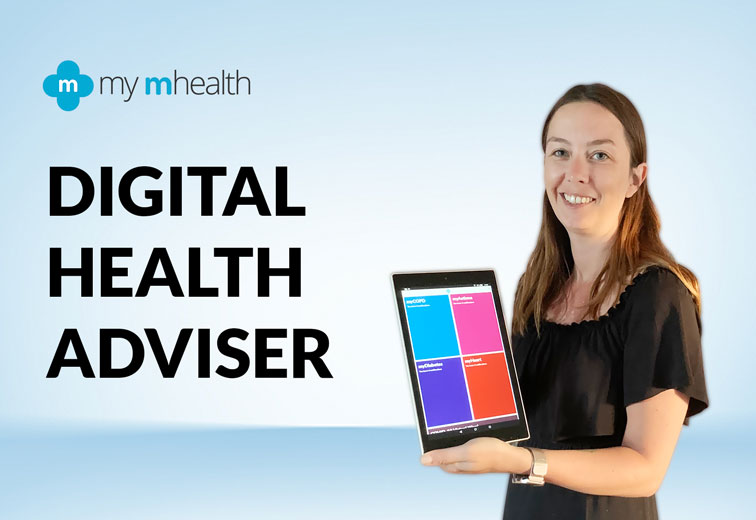 Rebecca Carvell, my mhealth Digital Health Adviser